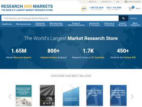 Research And Markets Promo Codes